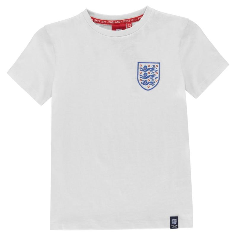 FA England Crest T Shirt Infants White