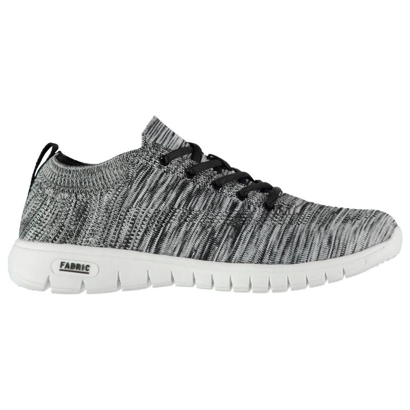 Fabric Volant Mens Trainers Black/White