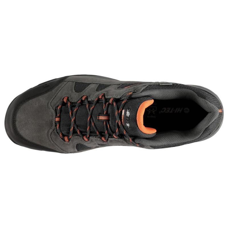 Hi Tec Bandera II Low Mens Walking Boots Charcoal