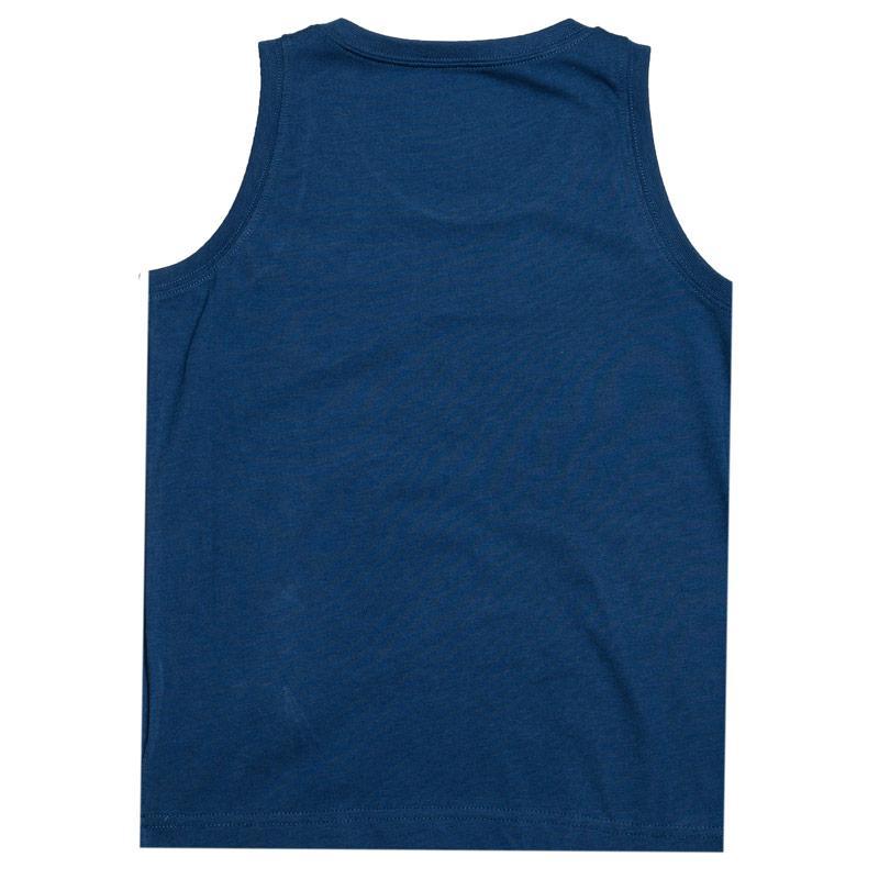 Tričko Converse Infant Boys CTP Tank Vest Blue