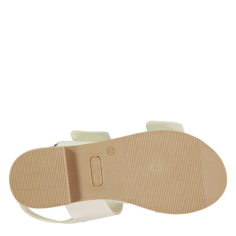 SoulCal 2 Buckle Child Girls Sandals White