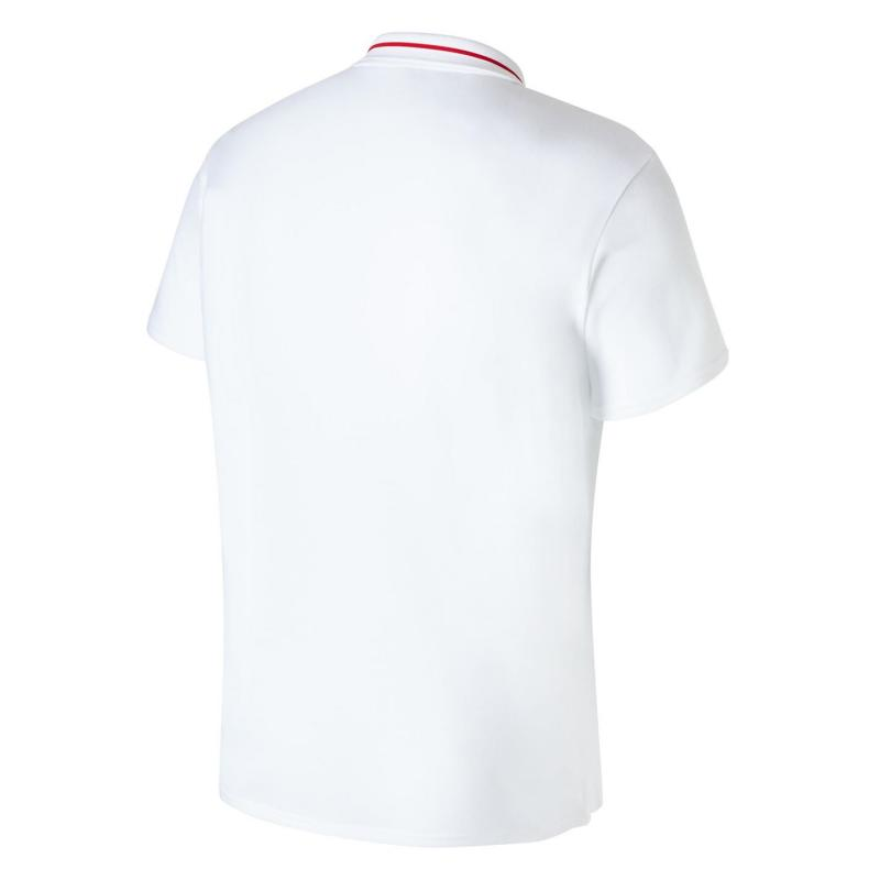 5b2eed24989 New Balance Liverpool Leisure Polo Shirt 2018 2019 Mens White