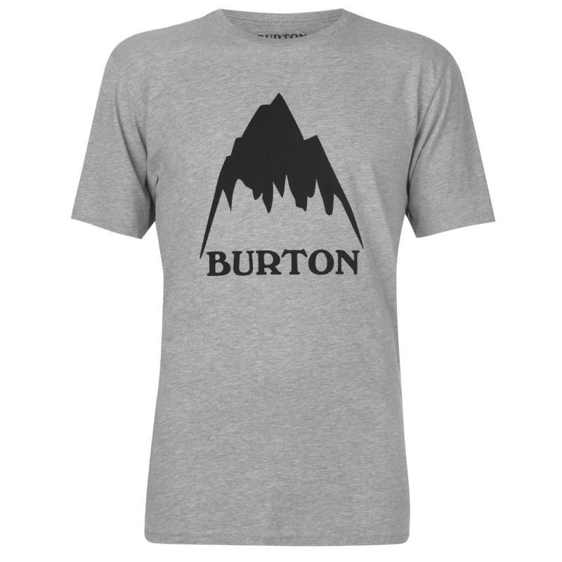 Tričko Burton Classic T Shirt Mens Grey