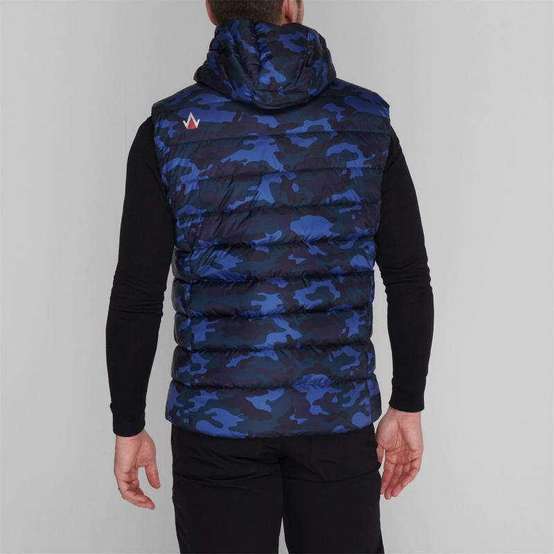 IFlow Camouflage Series Vest Mens Blue Camo