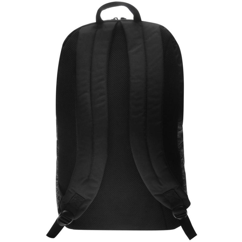 Police Grid Backpack Navy