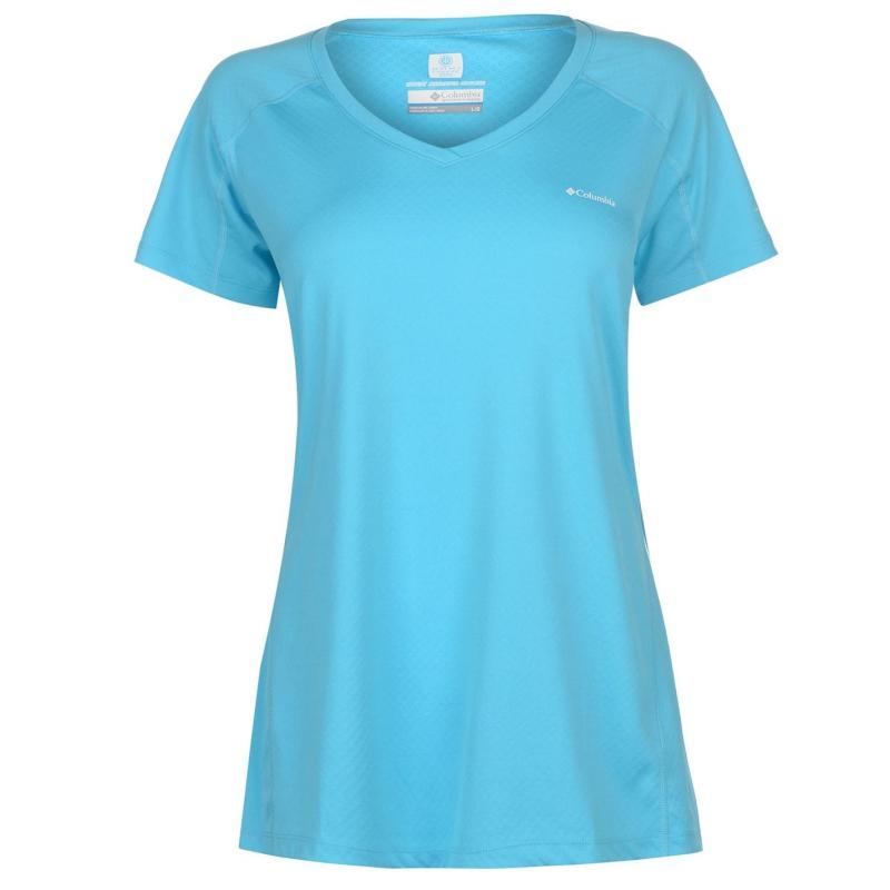 Columbia Zero T Shirt Ladies Grey