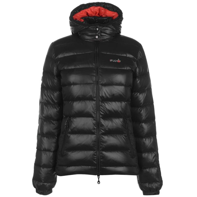 IFlow Black Series Jacket Ladies Black/Red