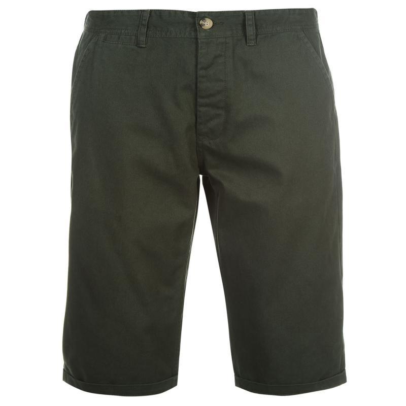Kangol Chino Shorts Mens Deep Forest