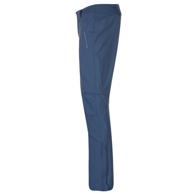 Millet Trekker Zip Off Walking Trousers Mens Teal Blue