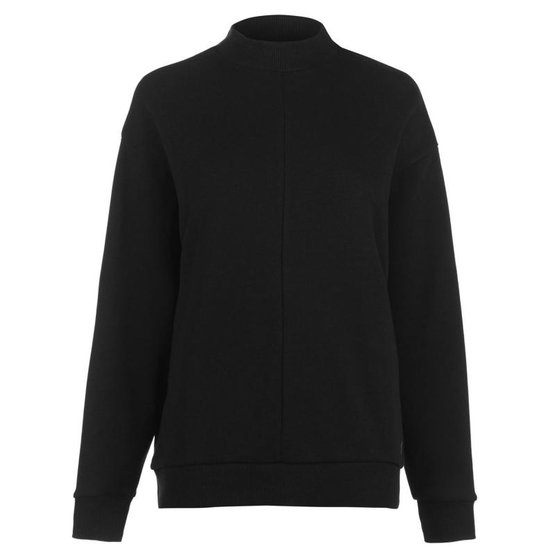 Mikina s kapucí Reebok EE Crew Neck Sweatshirt Ladies Black