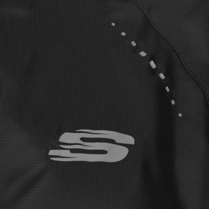 Skechers Shell Jacket Ladies Black