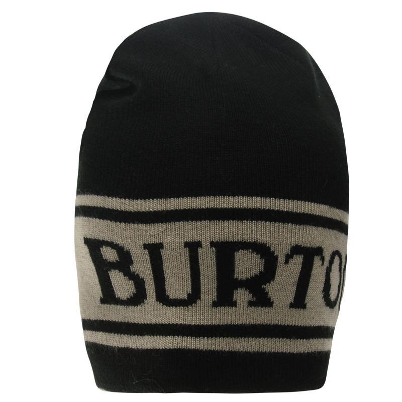 Burton Billboard Beanie Hat Mens Black
