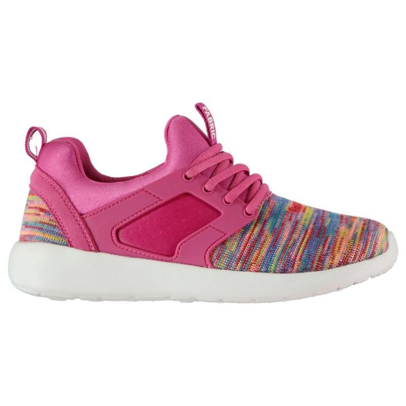 Fabric Zeta Child Girls Trainers Pink