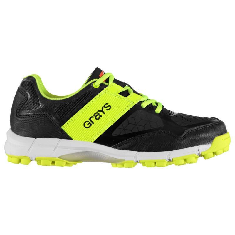 Grays Flash 4000 Hockey Shoes Mens Black/Neon