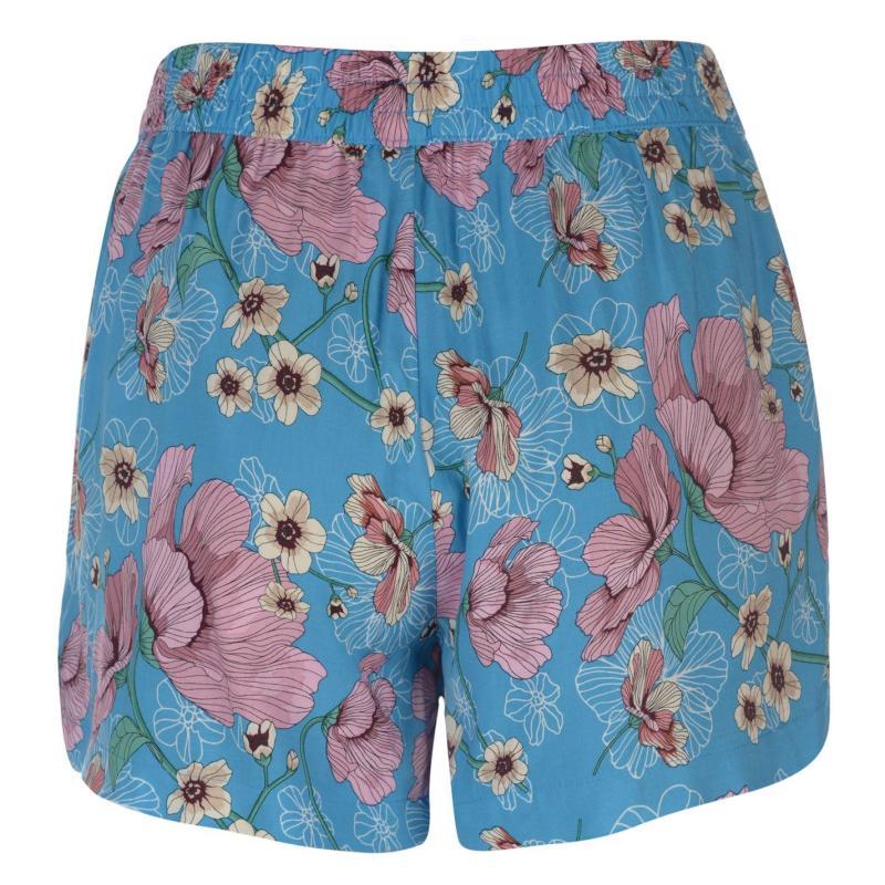 JDY Victory Shorts Aqua/pink