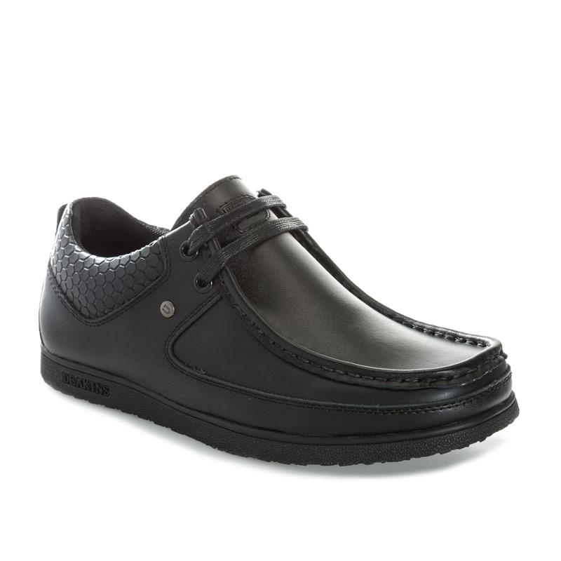 Deakins Junior Boys Allan Lace Shoe Black