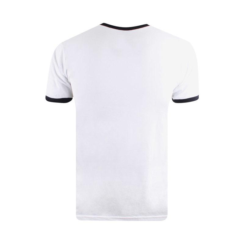 Tričko Get The Label Mens Jurassic Park T-Shirt Black-White