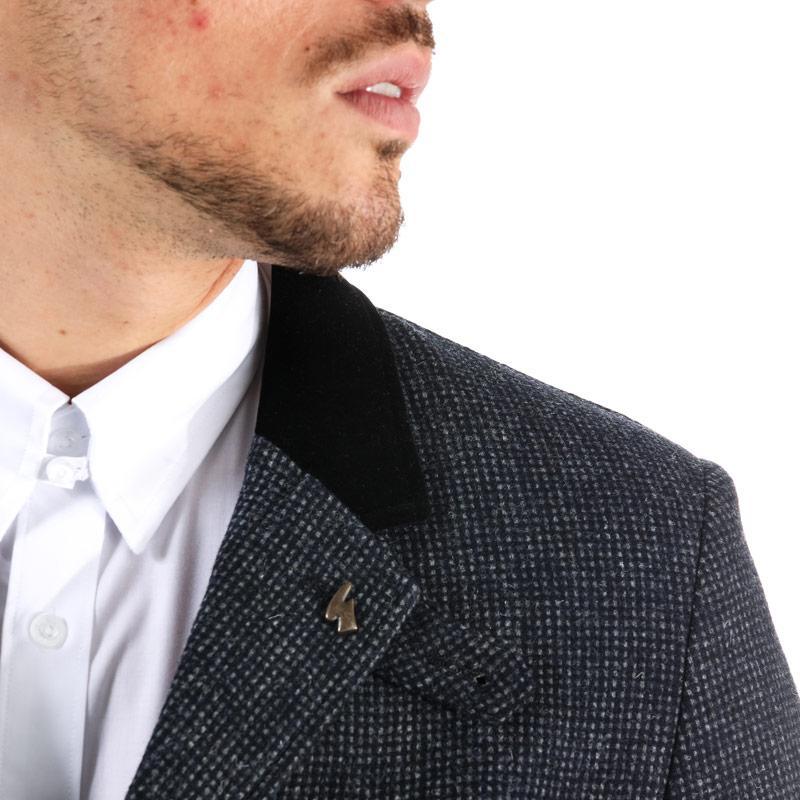 Gabicci Vintage Mens Vernezza Tailored Jacket Black