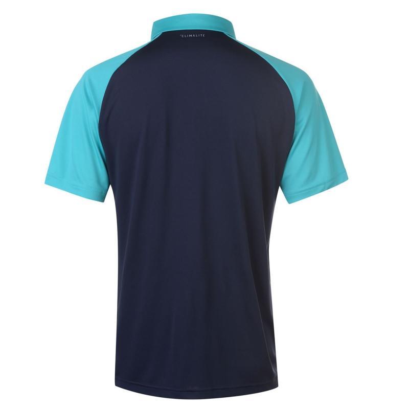Adidas Club Polo Shirt Mens Hi-Res Aqua