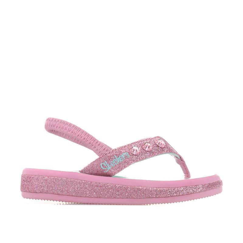 Skechers Infant Girls Sunshine Summerglow Sandals Pink