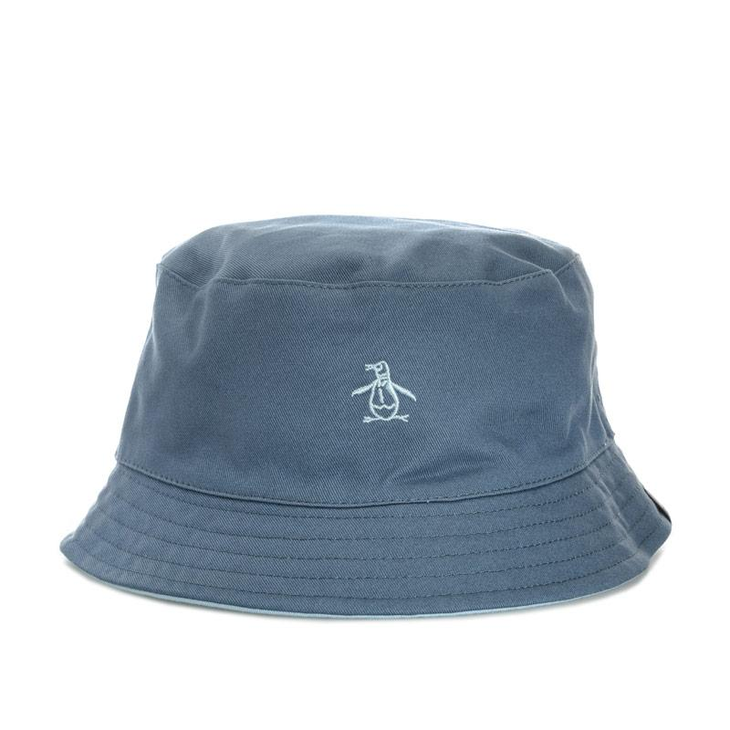 Original Penguin Mens Switch Bucket Hat Indigo