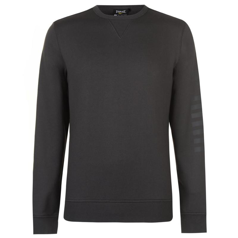 Mikina Everlast Agile Crew Sweater Mens Charcoal