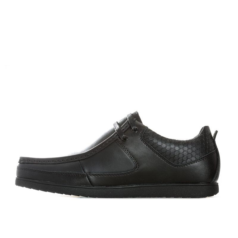 Boty Deakins Mens Allan Lace Shoe Black