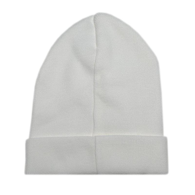 Fila Mens Beanie Logo Hat White