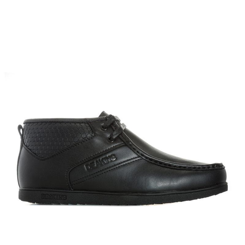 Boty Deakins Mens Danforth Lace Boot Black