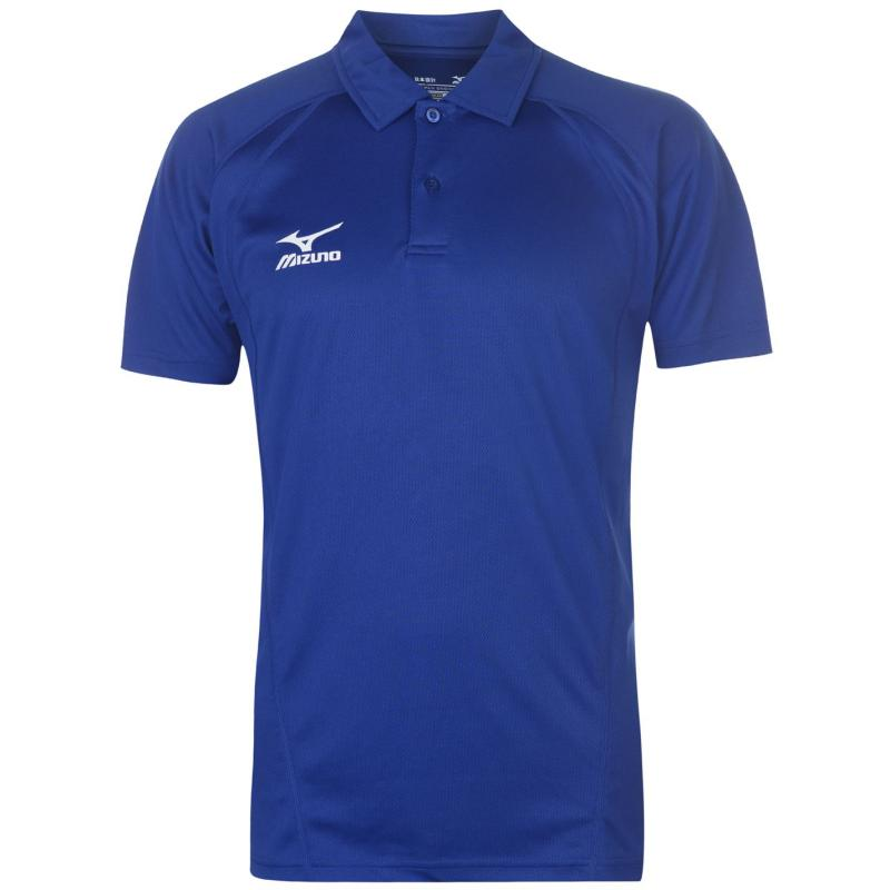 Mizuno Tech Polo Shirt Mens Royal