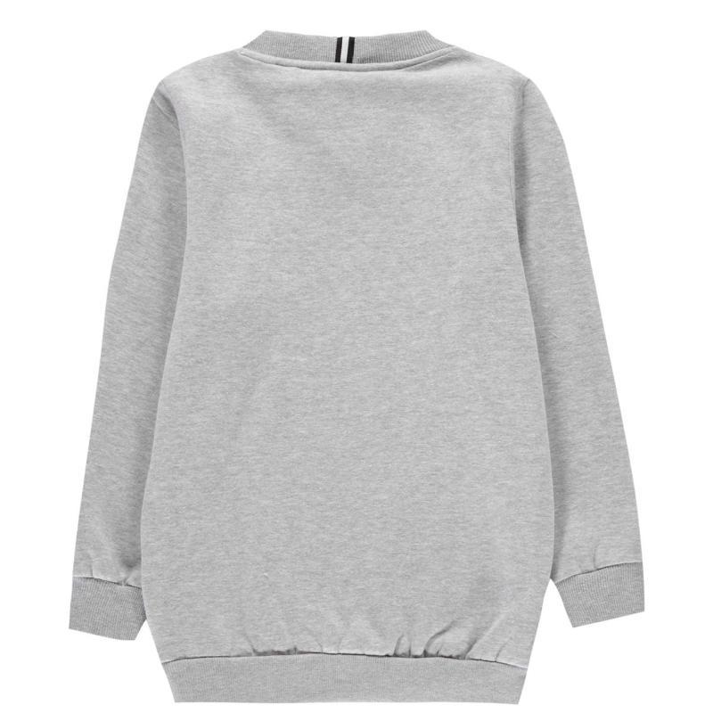 NUFC Sweatshirt Jn01 Grey