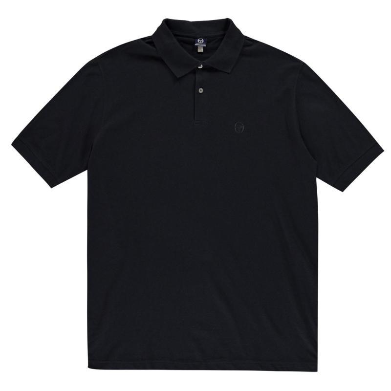Sergio Tacchini Polo Shirt Mens Navy