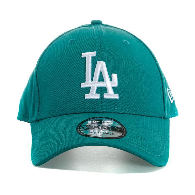 New Era Mens Los Angeles Dodgers Essential 9Forty Cap Green