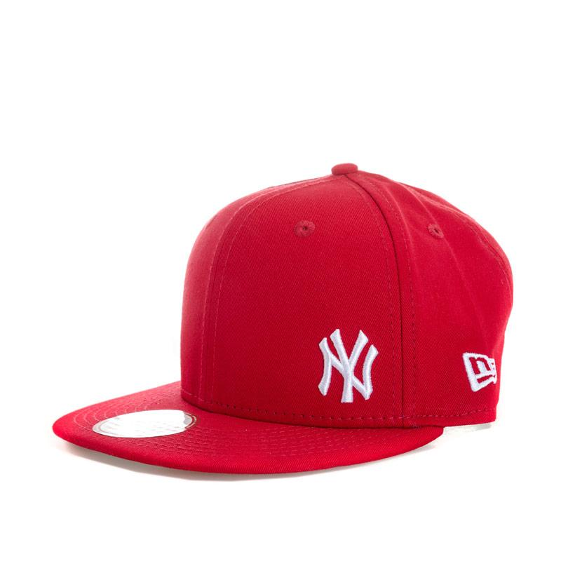 New Era Mens New York Yankees Flawless 9Fifty Cap Red