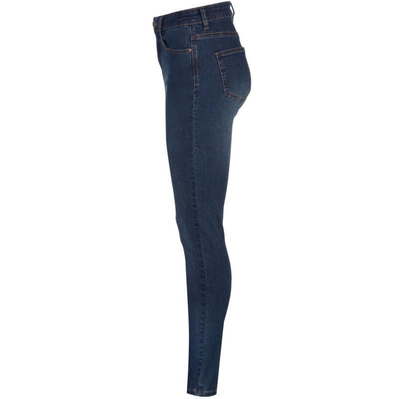 Golddigga Stretch Jeans Ladies Mid Wash