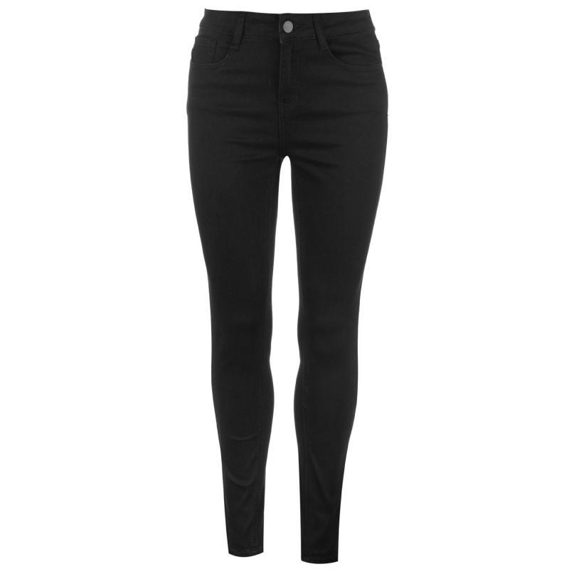 Golddigga Stretch Jeans Ladies Black