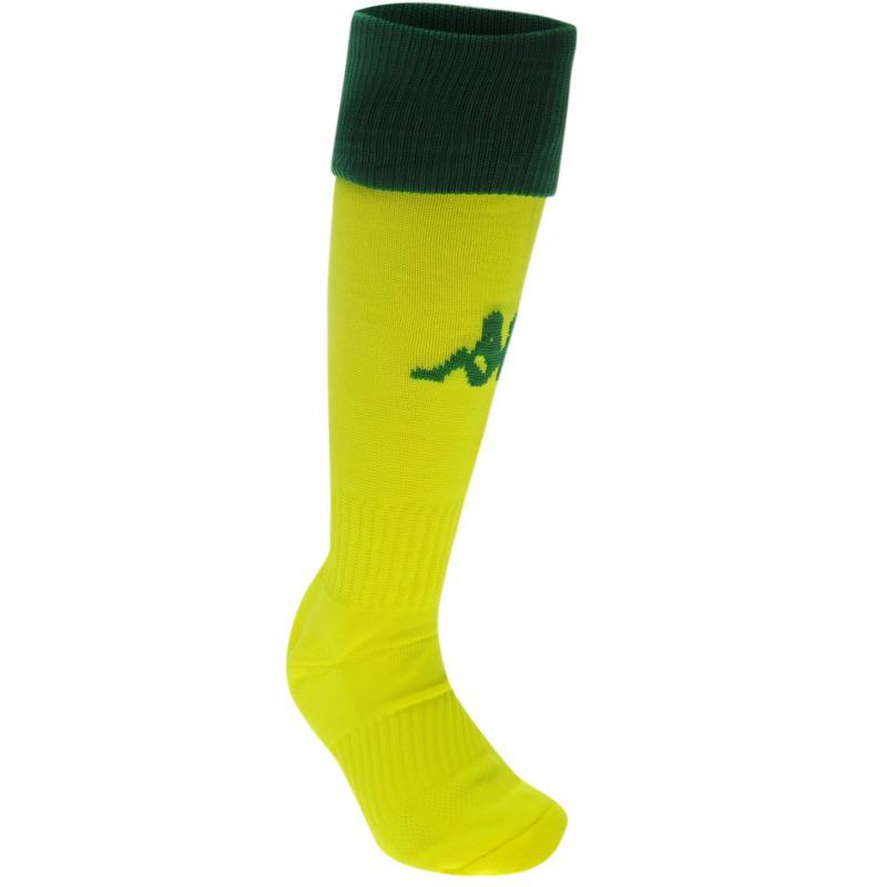 Ponožky Kappa Winner Football Socks Mens Neon/Yellow
