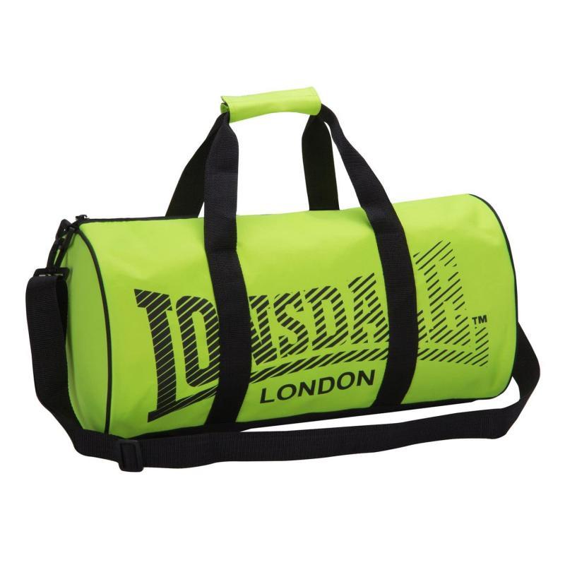 Lonsdale Barrel Bag Fluo Yell/Black
