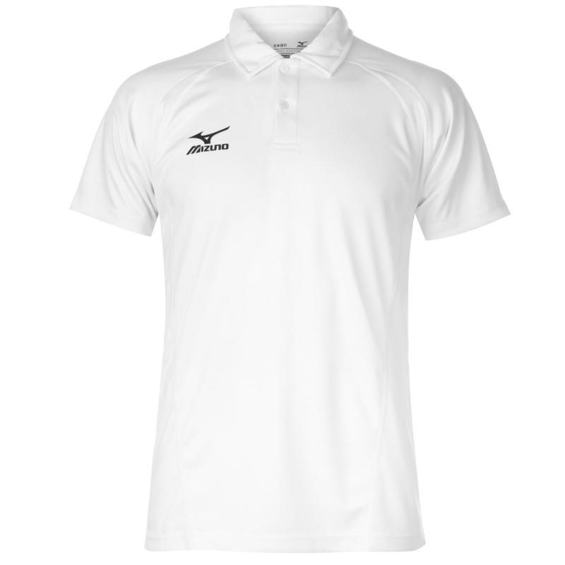 Mizuno Tech Polo Shirt Mens White