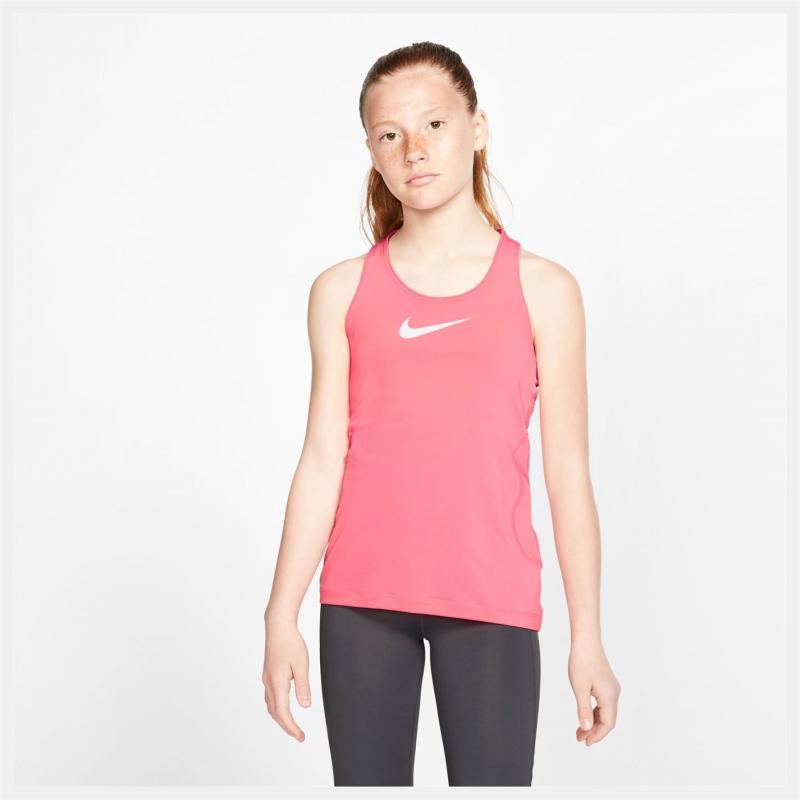 Nike Pro Tank Top Junior Girls Pink