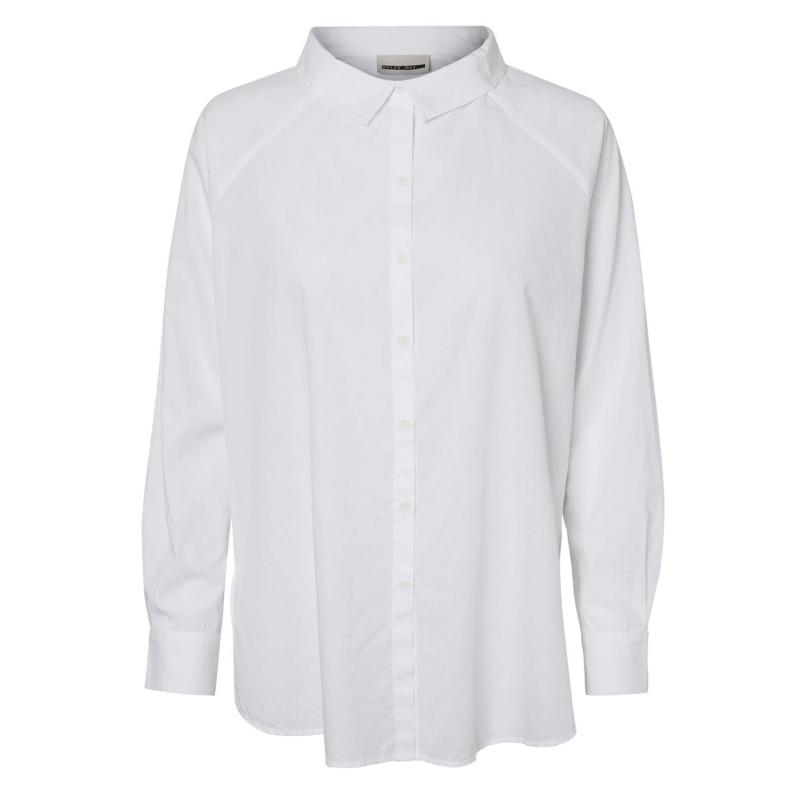 Košile Noisy May Sade Shirt Bright White