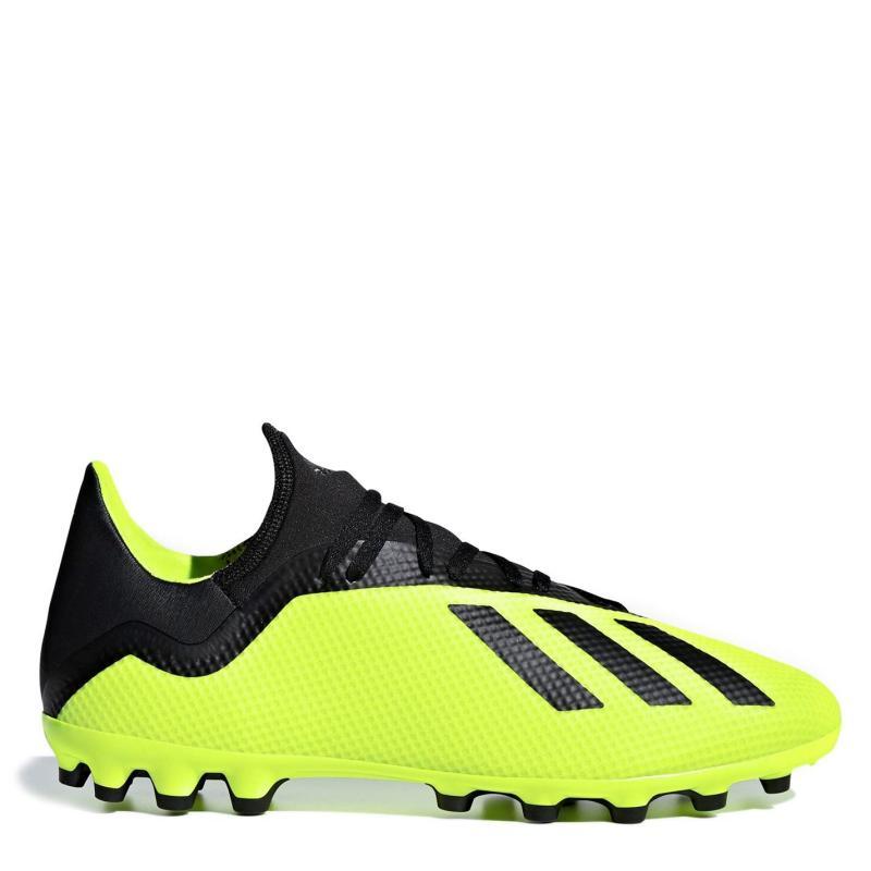 Adidas X 18.3 Mens AG Football Boots SolarYellow/Blk