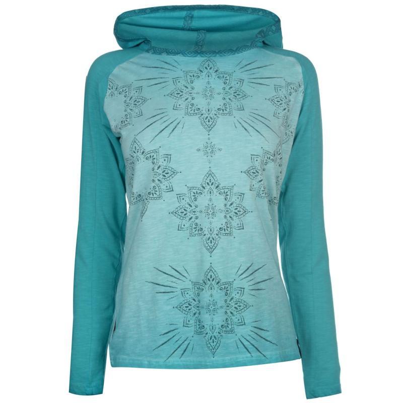 Mikina Chillaz Berga Sweatshirt Ladies Green