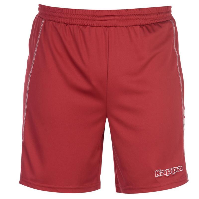 Kappa Alba Shorts Mens Red/Yellow