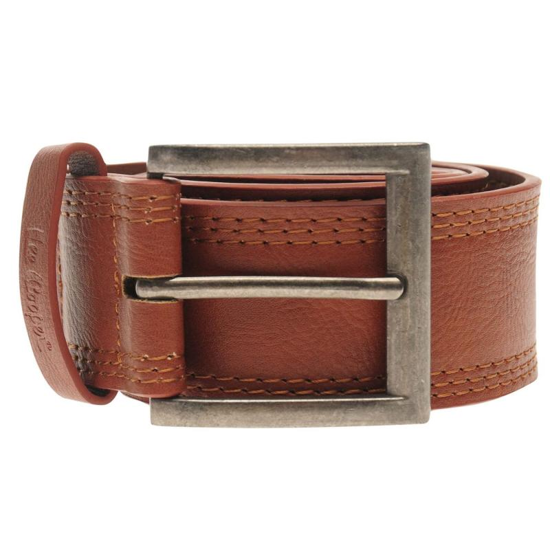 Lee Cooper Worker Belt Mens Tan