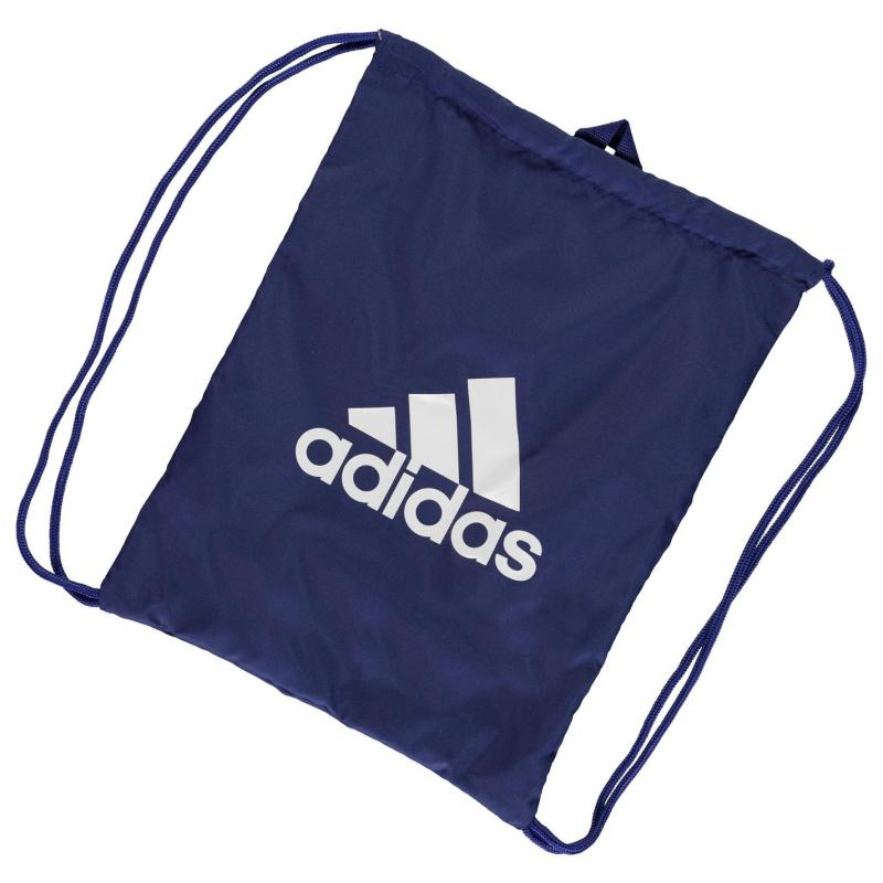 adidas Essentials Sports Gym Sack Blue/White