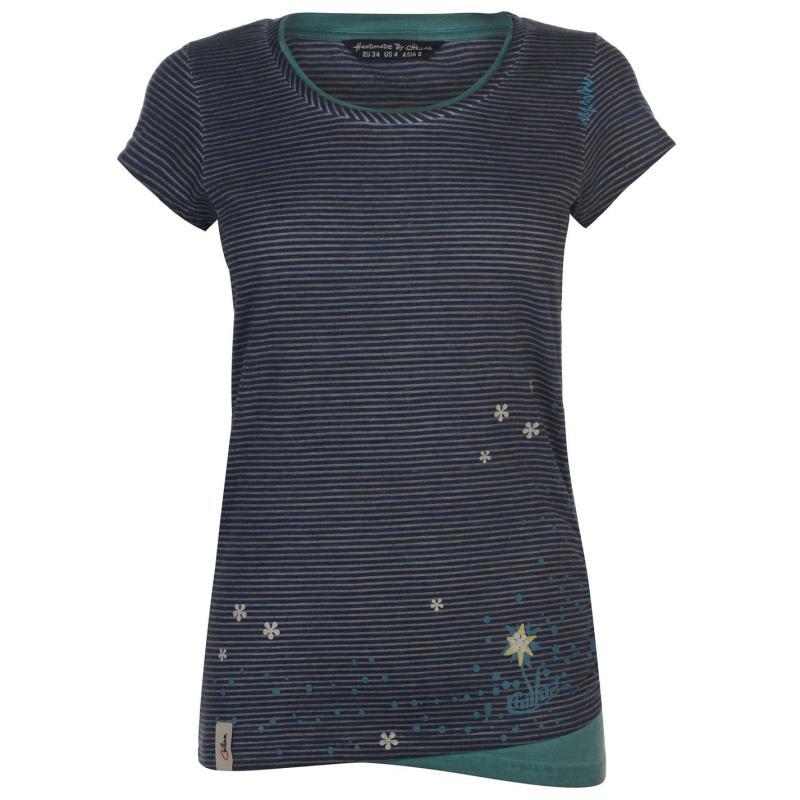 Chillaz Little Dot T Shirt Ladies Blue
