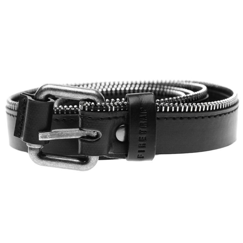 Firetrap Zipper Belt Ladies Black