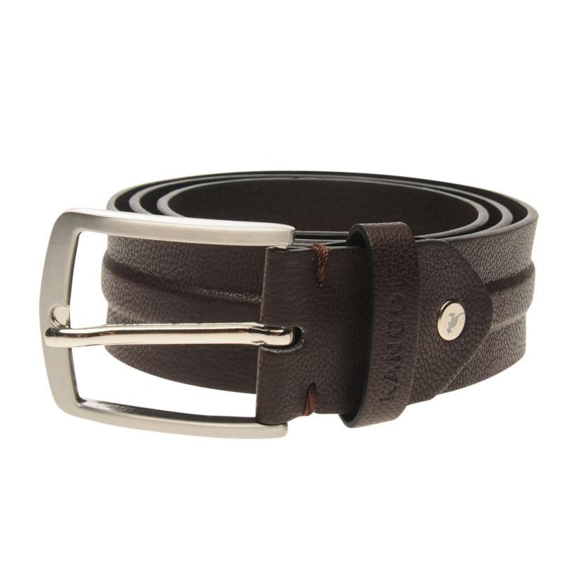 Kangol Raised Belt Mens Brown
