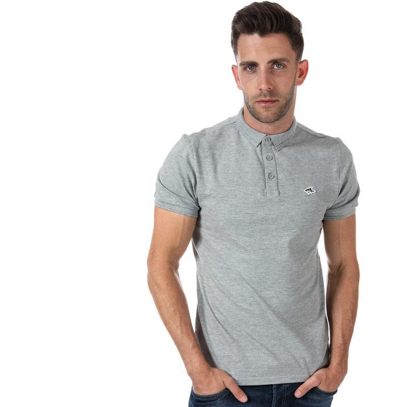 Le Shark Mens Halkin 2 Polo Shirt Grey Marl